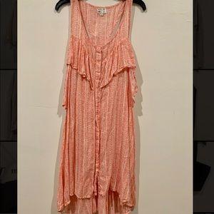 RVCA summer buttoned up dress